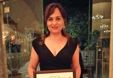 """Premio """"La Calabria che lavora"""" alla conduttrice televisiva Dominga Pizzi"""