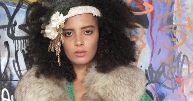 La modella reggina Hajar Bellari al Movie Urban Style di Milano