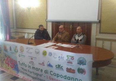 Reggio Calabria: Presentato il 49° Tuffo in mare di Capodanno